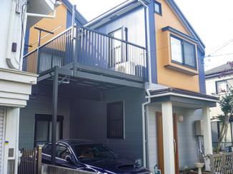 外壁・屋根リフォーム 断熱性を重視し、配色にもこだわった外壁・屋根