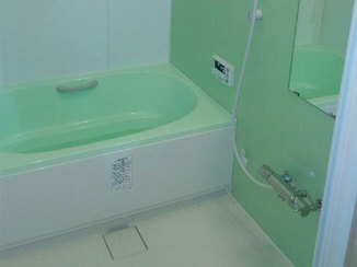バスルームリフォーム 生活空間である1階に作り、使いやすくなった水廻り
