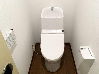 トイレリフォーム タバコで汚れてしまったトイレ空間を明るくきれいに