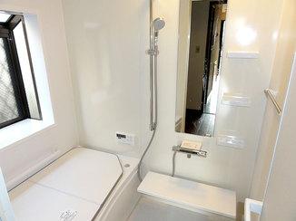 バスルームリフォーム 全体的に広くなり使いやすさが向上した浴室