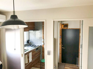 キッチンリフォーム ヴィンテージ感を演出しつつ最新の機能を備えた住みよいお部屋