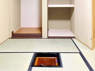 マンションリフォーム 水廻り設備を一新、和室に炉檀を増設したこだわりが光るマンションリフォーム