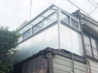 事例別カテゴリー 雨や花粉から洗濯物を守るサンルーム