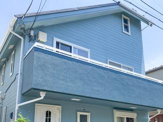 外壁・屋根リフォーム 新築当時の色がよみがえった外装