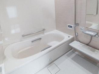 バスルームリフォーム 機能性が上がり、今までより快適になったお風呂